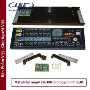 mặt nhôm ampli TK406 LKE