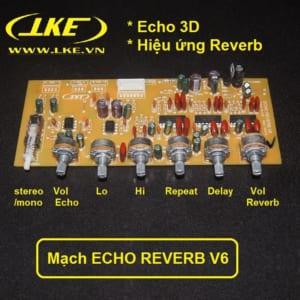 mạch echo reverb v6 hiệu ứng âm thanh sân khấu