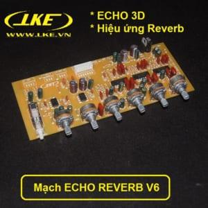 mạch echo reverb V6