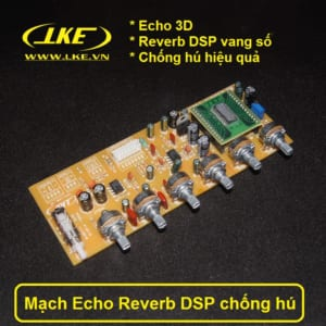 mạch echo reverb DSP chống hú