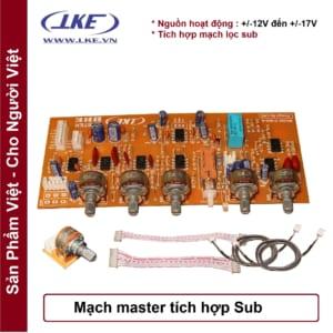 Mạch master BBE tích hợp sub LKE