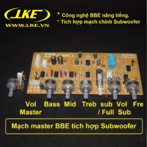 mạch master BBE tích hợp chỉnh sub LKE