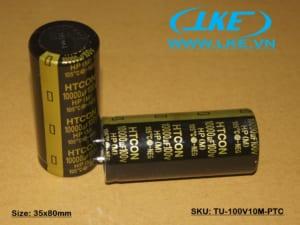 Tụ nguồn chính hãng HTCON 100V 10000uF