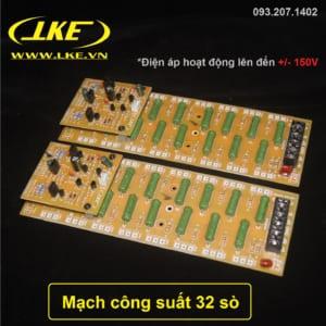 Mạch công suất 32 sò 720w fip vàng LKE
