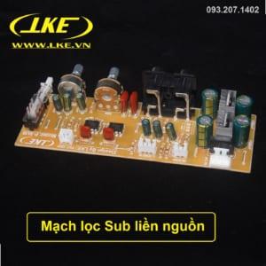 mạch lọc sub liền nguồn LKE