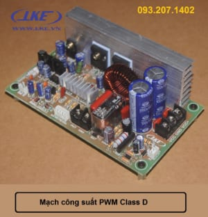 mạch công suất class D LKE
