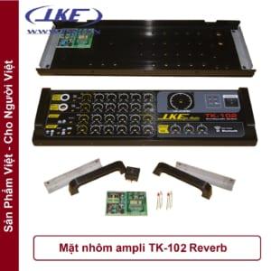 mặt nhôm ampli TK102 LKE