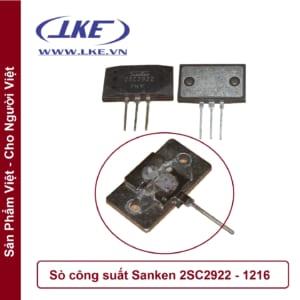 SÒ CÔNG SUẤT SANKEN 2SC2922 2SA1216